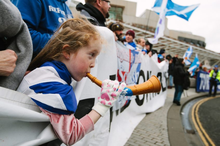 Starr Hopkins, 8, from Glasgow