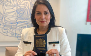 Blue passports marking Brexit to be issued from next month