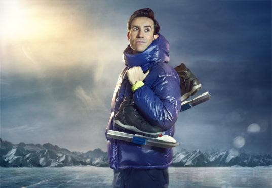 Nick Grimshaw will be taking on an icy challenge