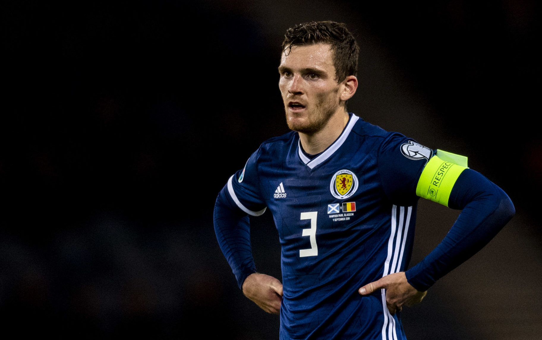 Scotland captain Andy Robertson