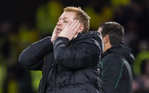 Neil Lennon felt the lows against Copenhagen but will be looking for some highs this afternoon