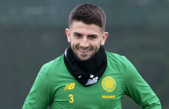 Celtic's Greg Taylor