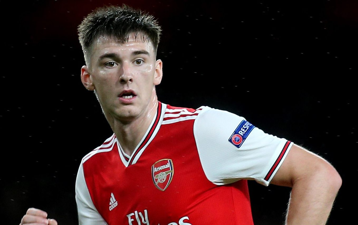 Arsenal's Kieran Tierney may be set to give Steve Clarke a boost