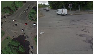 Revealed: Potholes on Scotland's roads so big they can be seen from space
