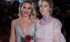 Saoirse with Mary Queen of Scots co-star, Margot Robbie