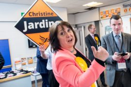Ready to run: Edinburgh MP Christine Jardine eyes Lib Dem leadership