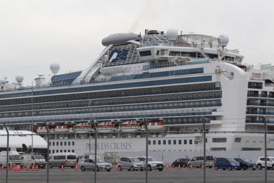 Quarantined cruise ship Diamond Princess