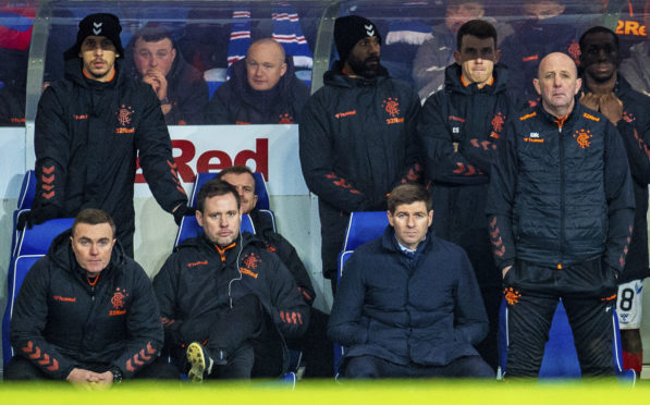 The expressions on the faces of the Rangers backroom team during the midweek loss to Hamilton Accies say it all