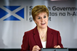 Coronavirus: Nicola Sturgeon announces £1.5 million funding to tackle domestic abuse