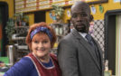 The award-winning Brenda Blethyn and Jimmy Akingbola, who also stars in Idris Elba's In The Long Run