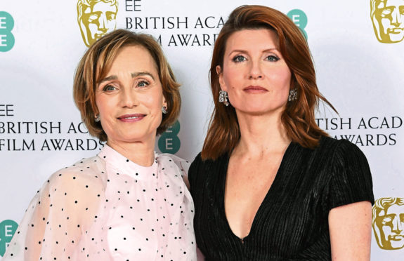 Kristin Scott Thomas and Sharon Horgan