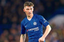 Billy Gilmour in action for Chelsea