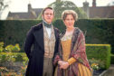Costume drama Belgravia stars Tamsin Greig and Oliver Goulding