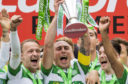 Scott Brown will be aiming to lift the SPFL Premiership trophy again at some stage this year