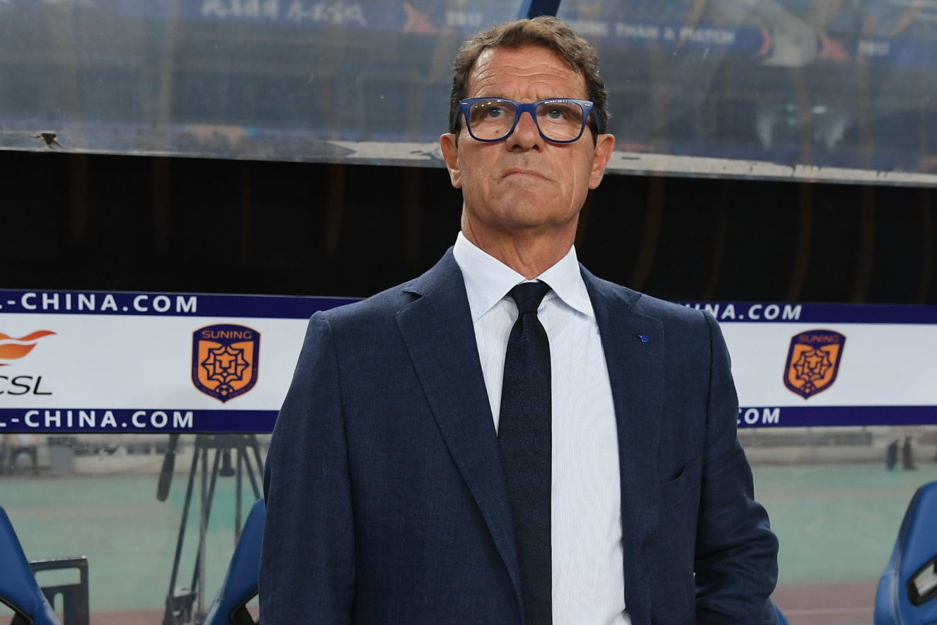 Italian legend Fabio Capello is currently self-isolating at home