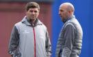 Steven Gerrard and assistant Gary McAllister have worked hard to get Rangers back on track for today's trip north