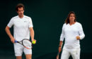 Andy Murray with former coach Amelie Mauresmo