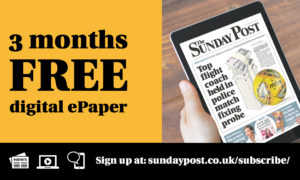 FREE for three months — Get your Sunday Post delivered online