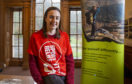 Laura Muir visits Venture Trust