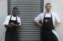 Chef Modou and Chef Nico