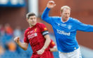 Jorg Albertz went toe-to-toe against Steven Gerrard during a Rangers-Liverpool Legends match at Ibrox last October