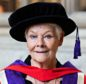 Judi receiving an honorary doctorate from Winchester University last year