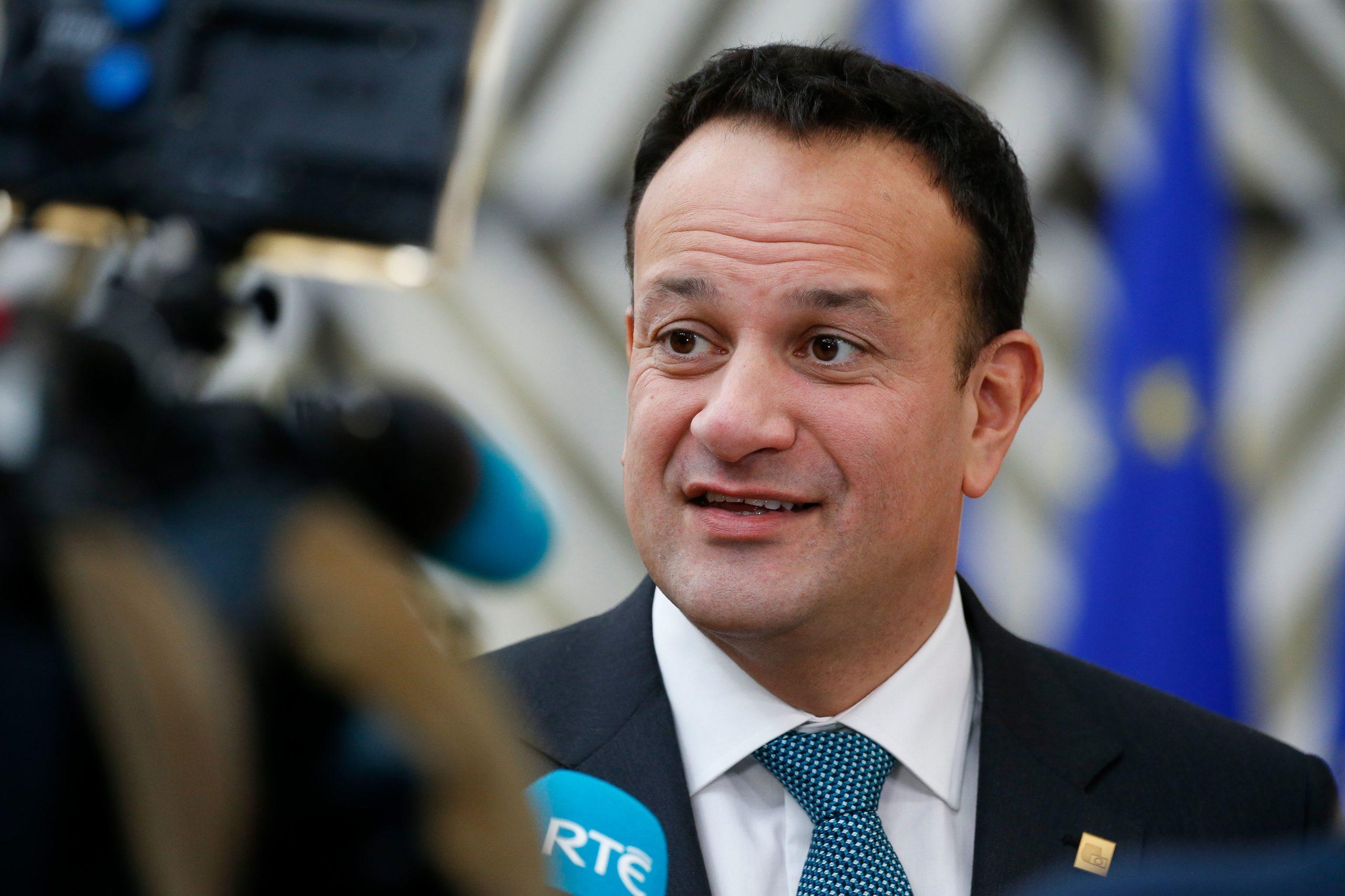 Irish Prime Minister, An Taisoeach Leo Varadkar