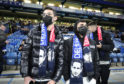 These Chelsea fans were taking no chances during the FA Cup tie with Liverpool