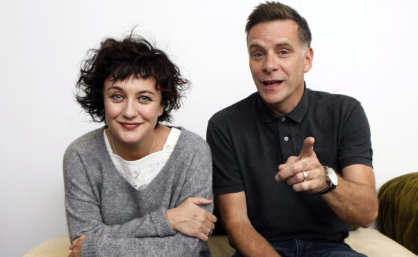 Lorraine McIntosh and Ricky Ross of Deacon Blue