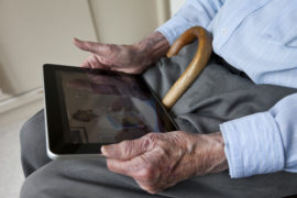 Coronavirus: Appeal launched for electronic gadgets to connect care home residents