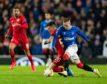 Rangers were beaten by Bayer Leverkusen at Ibrox last night