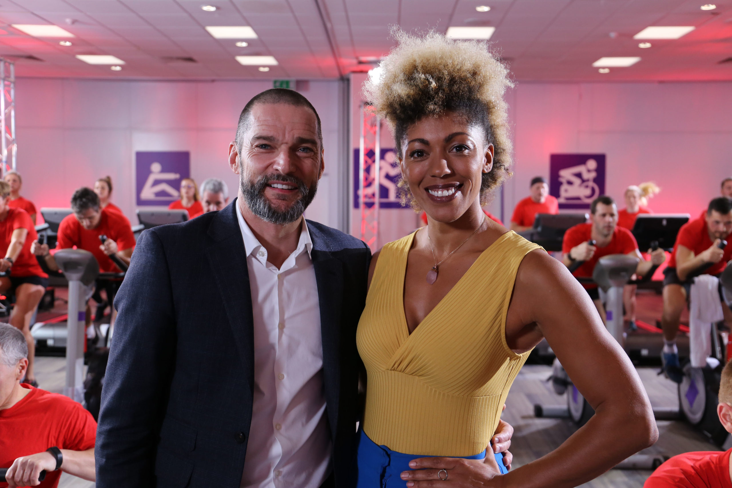 Series hosts Fred Sirieix and Zoe Williams