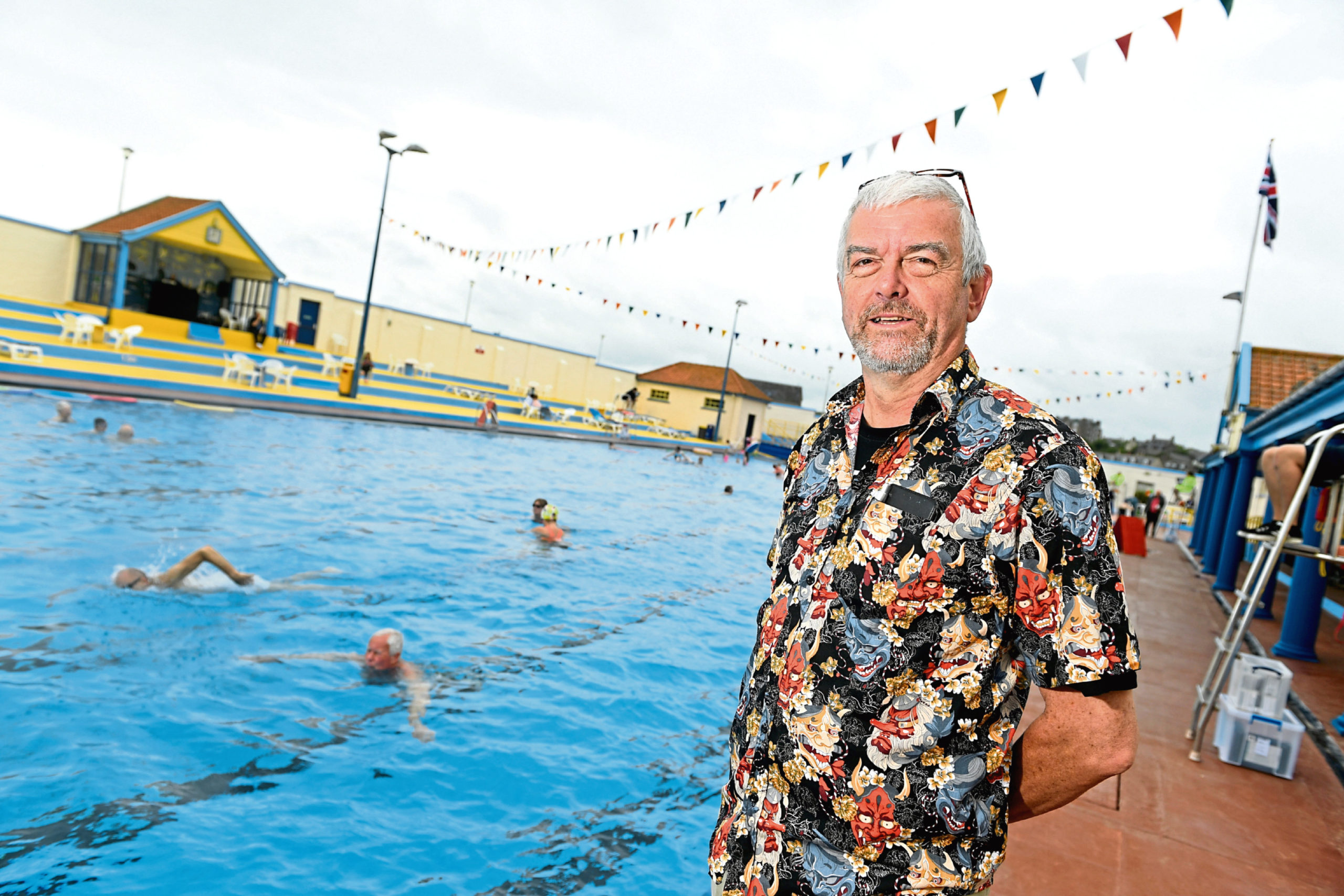Pete Hill, pictured in Stonehaven, battled for a year with Together Energy
