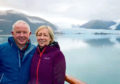 Evelyn and Donald in Patagonia before they became stranded on the Coral Princess