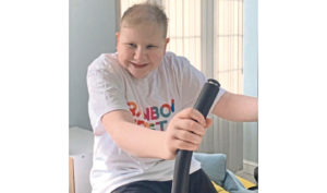 Teen cancer survivor to cycle 200 miles in isolation for charity
