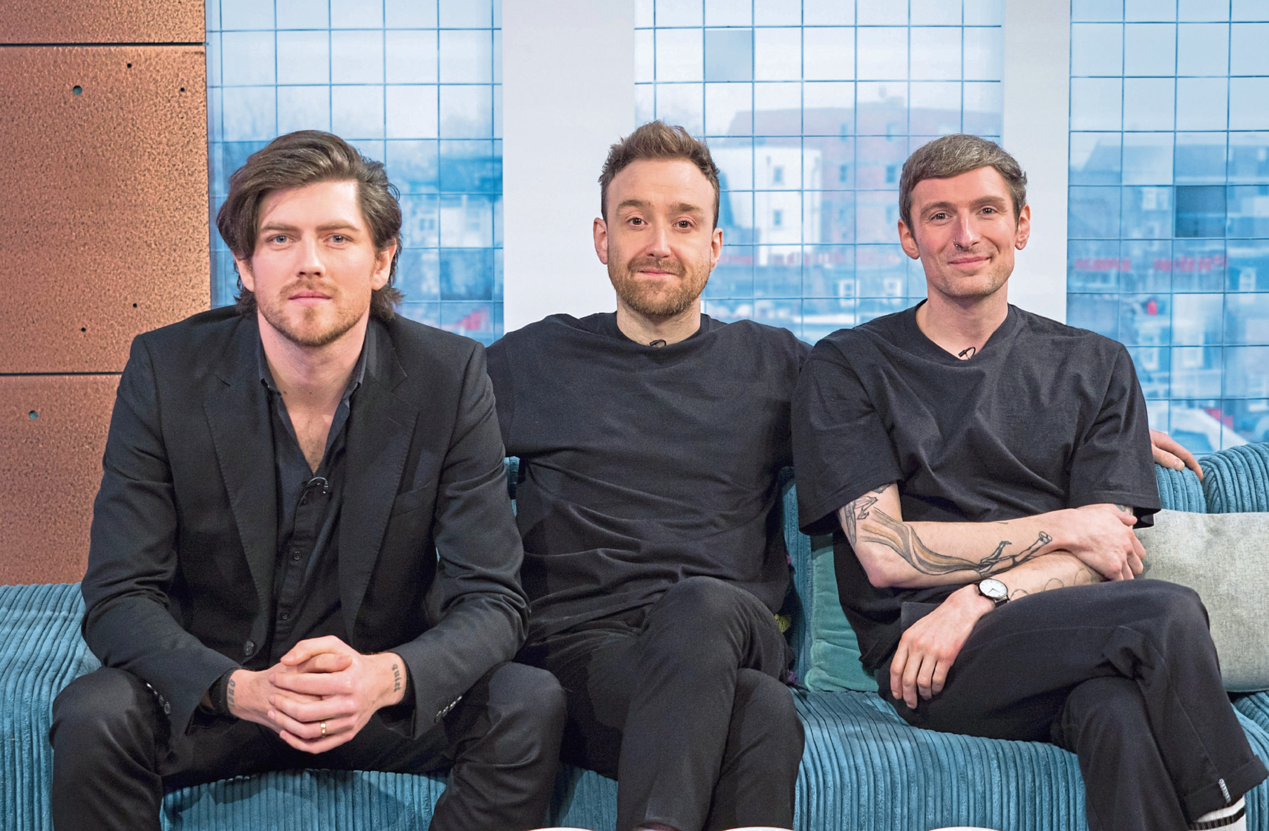Sam McTrusty, left, of Twin Atlantic