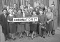 The cast of Coronation Street in 1963