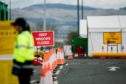 The new drive-through test centre at Glasgow Airport will be staffed by workers from Boots