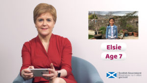 VIDEO: Nicola Sturgeon answers children's coronavirus questions