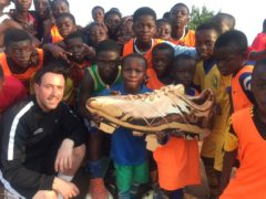 Scots football coach finds beautiful game in African township
