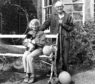 John Lorne Campbell and Margaret Fay Shaw at Canna House