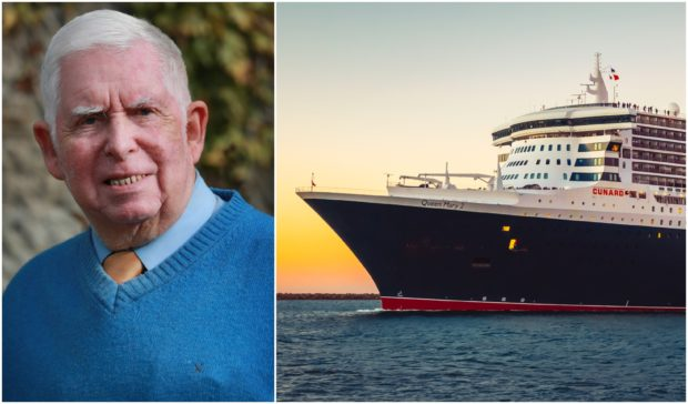 Bill Fyfe Hendrie's dream trip on the Queen Mary 2 was disrupted by the pandemic