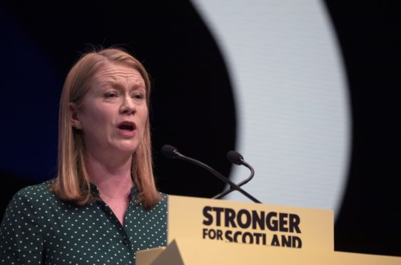 Social Security Secretary Shirley-Anne Somerville