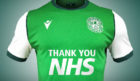 How the Hibs home shirt is expected to look
