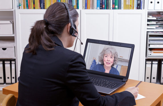Solicitors are answering your financial queries by video call