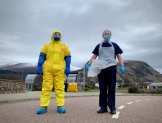 Urgent appeal for PPE donations in Scotland to 'save NHS lives'