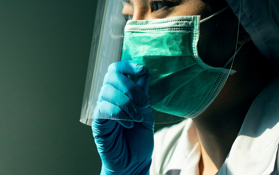 PPE that is not up to medical standard like the mask above is being sold online
