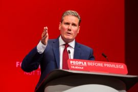 Keir Starmer takes over as Labour leader and vows his party will bring new hope when our skies lighten again