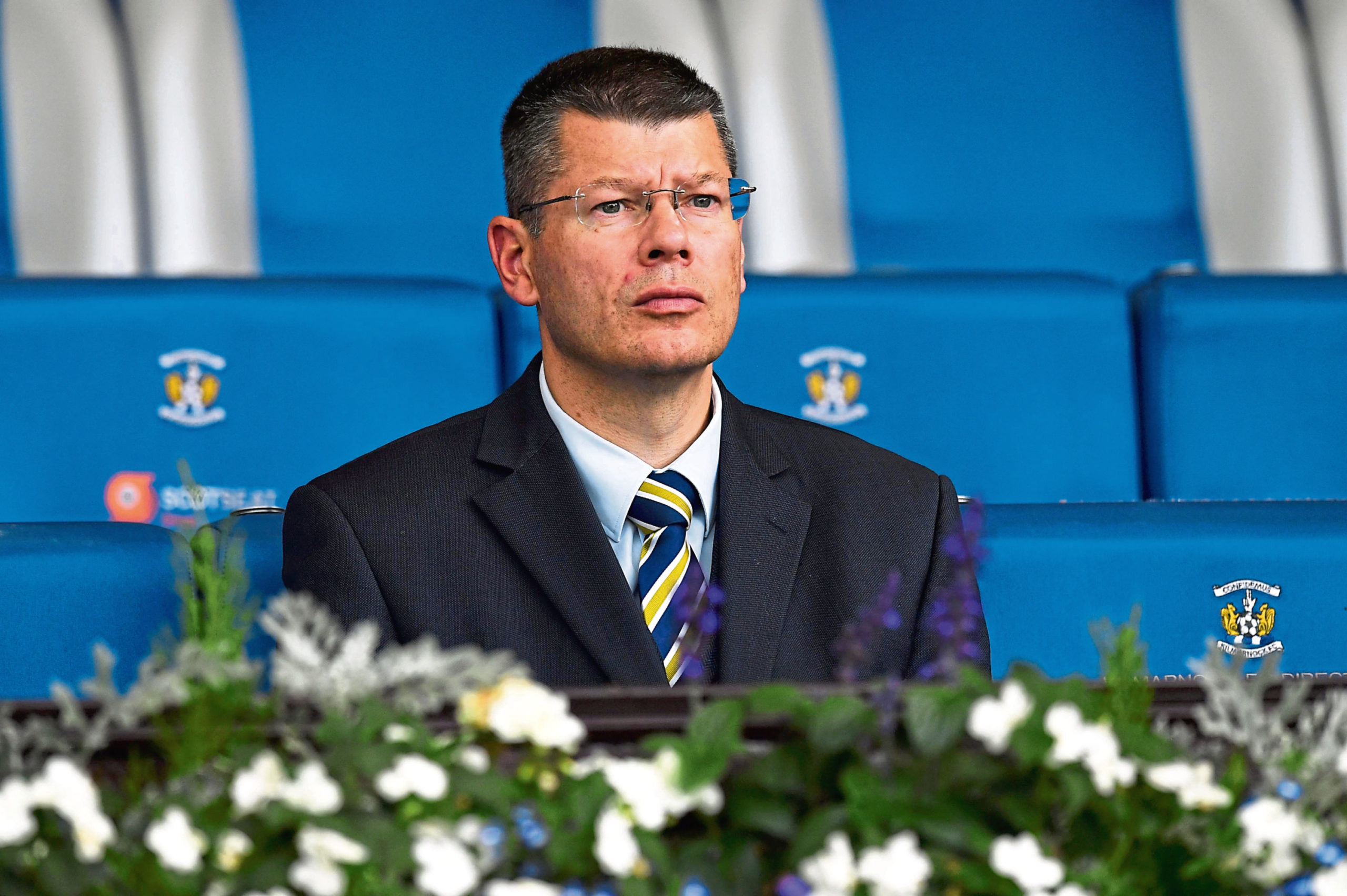 SPFL chief executive Neil Doncaster has been under fire