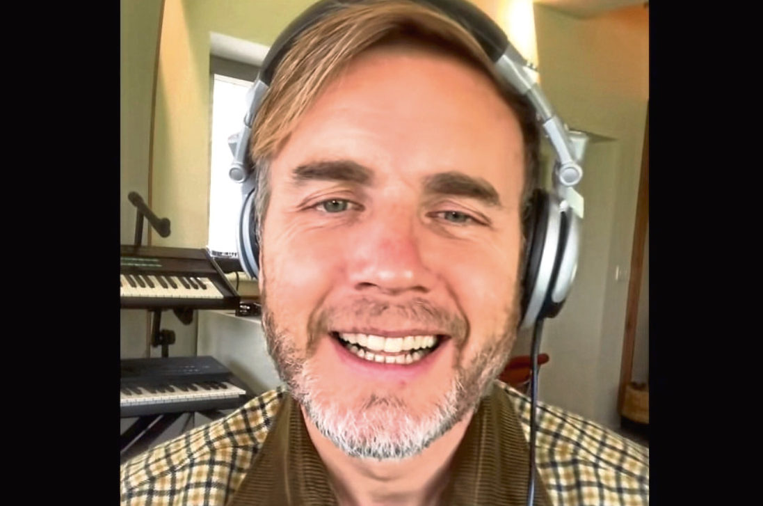 Gary Barlow is letting it all grow out